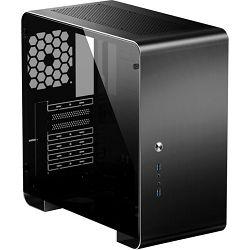 Jonsbo U4 Plus Black, Glass Window Midi Tower