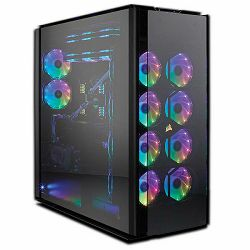 Corsair Obsidian 1000D Super-Tower Case, Tempered Glass, CC-9011148-WW