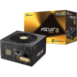 Napajanje Seasonic Focus GX 650W 80+ Gold Modular, FOCUS-GX-650, SSR-650FX