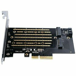 Orico 2xM.2 NVME to PCI-E 3.0 x4 Expansion Card (ORICO PDM2)