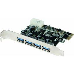 LogiLink 4x USB 3.0, PCIe 2.0 x1, PC0057A