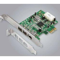 Dawicontrol PCI Card PCI-e DC-FW800 Firewire Blister