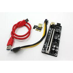 Adapter Extender Riser Card ver 009s-plus USB 3.0 PCI-E Express 1x To 16x