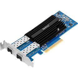 Synology E10G21-F2  High speed, dual-port 10GbE SFP+ add-in-card for Synology NAS servers