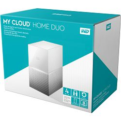WD 4TB My Cloud Home Duo, WDBMUT0040JWT-EESN
