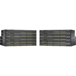 Cisco WS-C2960X-48TS-L, Catalyst 2960-X LAN Base Rackmount Gigabit Managed stack switch