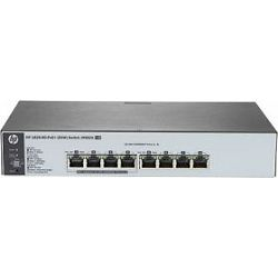 HP OfficeConnect 1820 8G desktop Gigabit Smart switch, 8x RJ-45, PoE+, J9982A