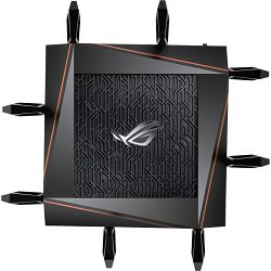 ASUS RT AS GT-AX11000, WiFi Router Black, 90IG04H0-MO3G00