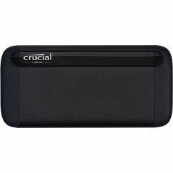 """Crucial X8 SSD 500GB, 2.5"""", USB 3.1, CT500X8SSD9"""