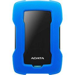 Adata 1TB USB3.1 Classic HD330, Durable Crno/Plavi, AHD330-1TU31-CBL