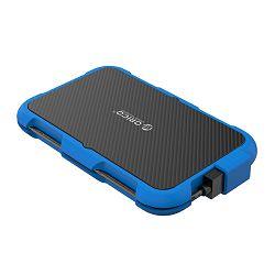 """Orico kućište 2.5"""" USB3.0 silikonsko kućište, Blue, 2739U3-BL-BP, 45830"""