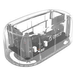 Orico docking 3.5 USB 3.0, prozirna, 6139U3-CR, 44974