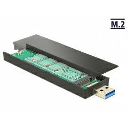Delock External Enclosure M.2 Key B 80 mm SSD > USB 3.1 Gen 2 Type-A male, 42593