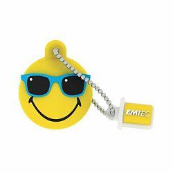 USB 16GB EMTEC SW108 Mr. Hawaii Yellow USB2.0, ECMMD16GSW108