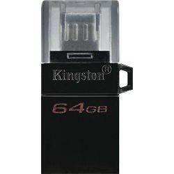 USB 64GB Kingston DT MicroDuo 3 Gen2+ micro USB, USB 3.0, DTDUO3G2/64GB