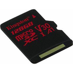 SD micro 128GB KGS 10 Canvas React, R100/W80, SDCR/128GBSP