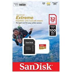 SD micro 32GB Sandisk Extreme , SDSQXAF-032G-GN6AA