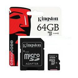 SD micro 64GB KGS 10 Canvas Select Plus, R 100 MB/sec, SDCS2/64GB