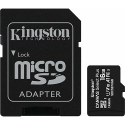 SD micro 16GB KGS 10 Canvas Select Plus, R100, SDCS2/16GB