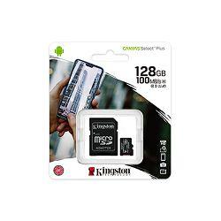 SD micro 128GB KGS 10 Canvas Select Plus, R100, SDCS2/128GB