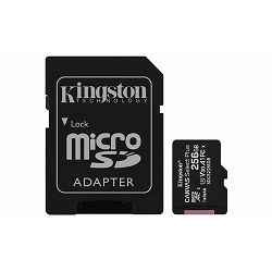 SD micro 256GB KGS 10 Canvas Select Plus, R100/W85, SDCS2/256GB