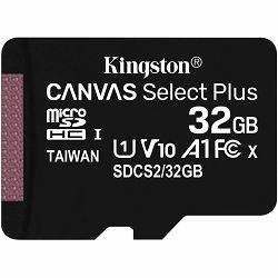 SD micro 32GB KGS 10 Canvas Select Plus, R100, SDCS2/32GBSP