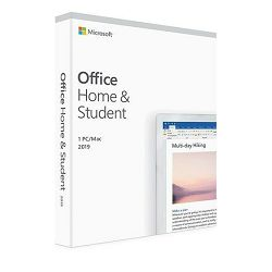 Microsoft Office 2019 Home & Student RET CRO, 79G-05145