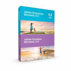 Adobe Photoshop & Premier Elements 2021 WIN/MAC IE licenca