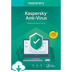 Kaspersky Anti-Virus 1 licenca/1 godina + 6 mjeseci Kaspersky Safe Kids