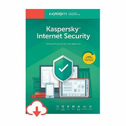 Kaspersky ISecurity 3 licence/1 godina + 6 mjeseci Kaspersky Safe Kids