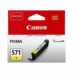 Tinta Canon CLI-571Y, žuta