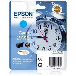 Tinta Epson 27XL DuraBrite Ultra Cyan 10,4ml original C13T27124012