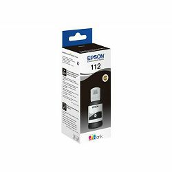 Tinta Epson 112, C13T06C14A, EcoTank Black ink bottle