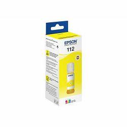 Tinta Epson 112, C13T06C44A, EcoTank Yellow ink bottle
