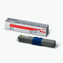Oki toner C310/311/330/331/C510/511/530/531/MC351/352/361/362/561/562, yellow, 2k