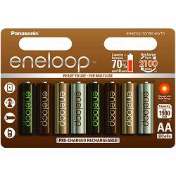 Panasonic baterije AA Eneloop 8 kom. Earth