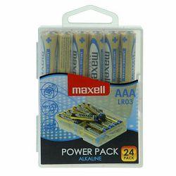 Maxell baterije AAA 24 kom