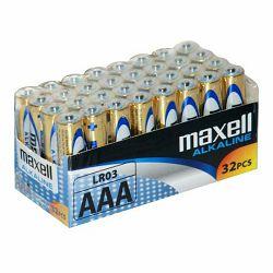 Maxell baterije AAA 32 kom