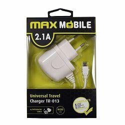 MAXMOBILE kućni punjač  sa USB Micro kabel  TR-013 2.1A, 5VDC