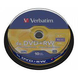 DVD+RW Verbatim 10 pack V043488
