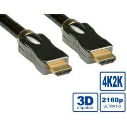Roline HDMI Ultra kabel sa mrežom, HDMI M - HDMI M, 3.0m