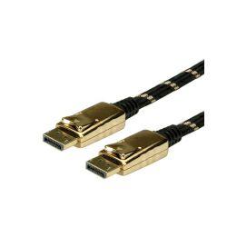 Kabel Display Port 1m, Roline Gold, 11.04.5644