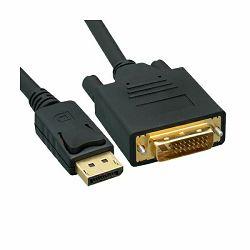 Kabel Display Port>DVI 2m, Roline, 11.99.5610