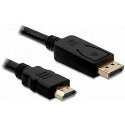 Kabel Display Port>HDMI, 3m, Delock, 4K, 85318