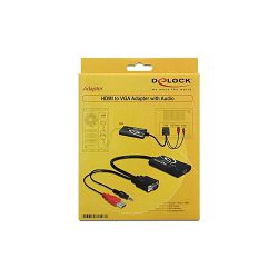 Delock adapter D-Sub15(M) + USB(M) -> HDMI(F)