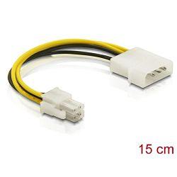 Kabel molex na 4 pina Delock , 0,15m , 82391