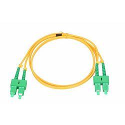Patch kabel SC/APC-SC/APC, Singlemode, 9/125, G.657A1, 3mm, Duplex, 2m, PCDSM-15075