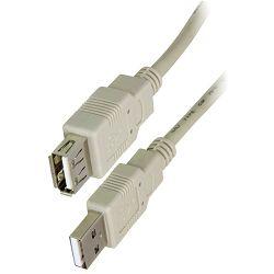Kabel DELOCK, USB 2.0, USB-A (M) na USB-A (Ž), produžni, 1.8m,  82239