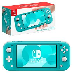 Nintendo Switch Lite Console - Turquoise, NINSWLITECTURQ