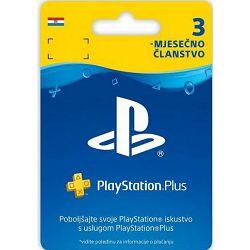 PlayStation Plus Card 90 Days Hanger